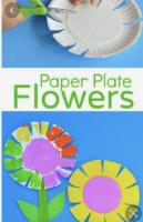 paper plate flowers(1)