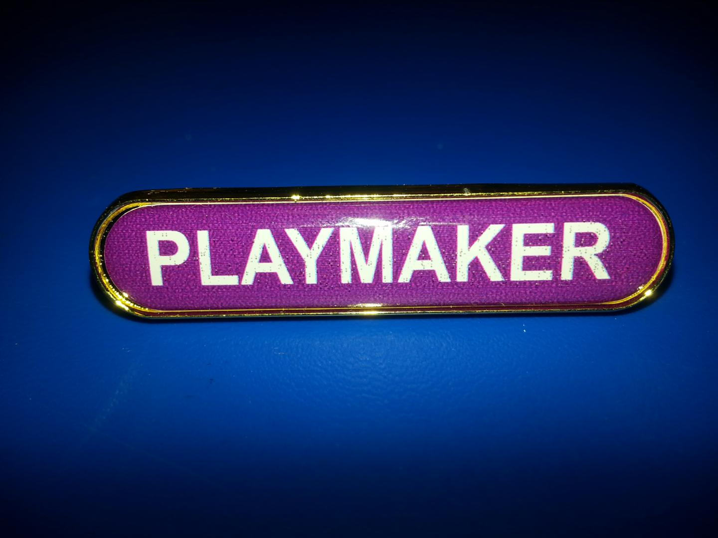 playmaker badge