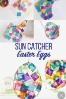 sun catcher eggs